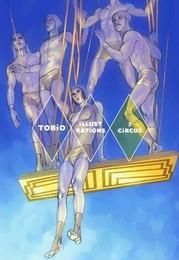 『TOBiO iLLUSTRATiONS 3 CiRCUS』カバーデザイン