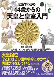 『図解でわかる 14歳からの天皇と皇室入門』 著:インフォビジュアル研究所、大角修