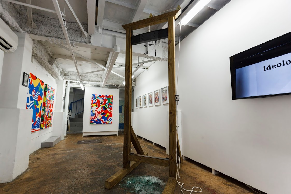 《The Calm Before the Parade》Installation view