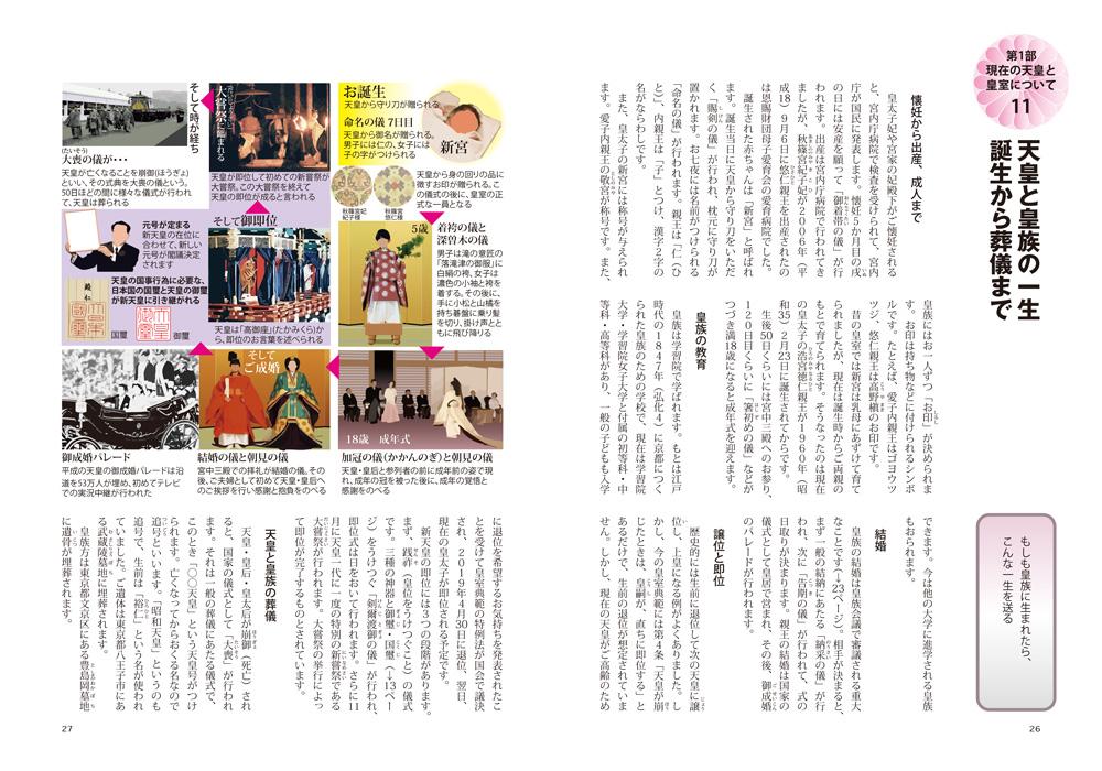 『図解でわかる 14歳からの天皇と皇室入門』ページサンプル2