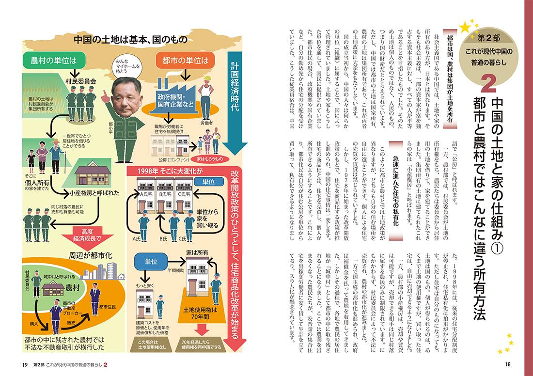 『図解でわかる 14歳から知っておきたい中国』ページサンプル4