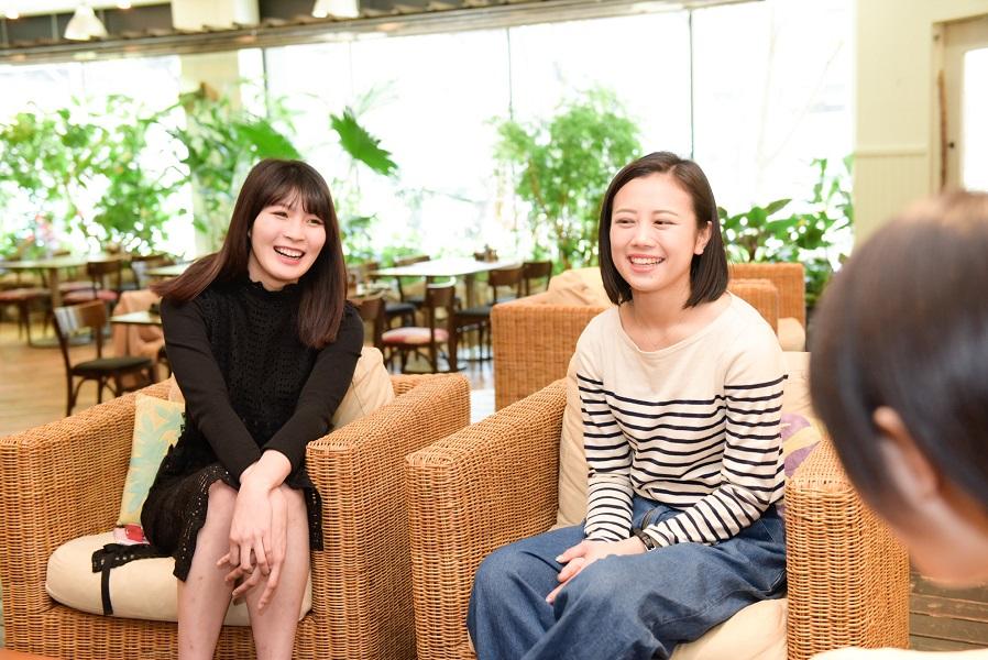 INTERVIEW 013 森咲樹&新井愛瞳さん 写真4