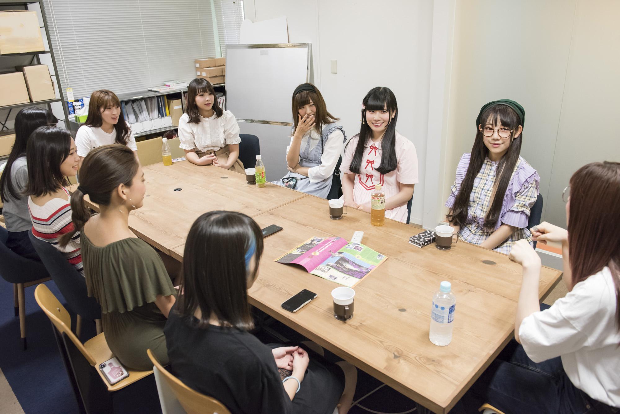 INTERVIEW 024 望月みゆ&恋汐りんご&大桃子サンライズさん 写真4