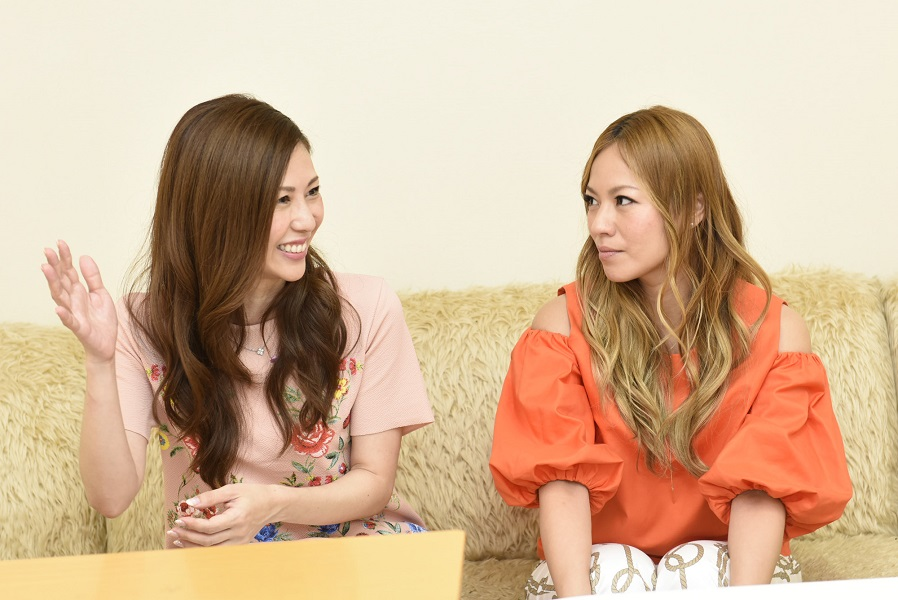 INTERVIEW 016 LINA & NANAさん 写真1