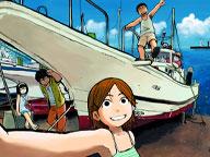 好評連載コミック、TAGRO 『イキガミ様』のオリジナル壁紙を公開!