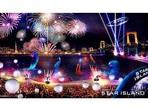 お台場に1万発が舞う 花火と音楽が融合の未来型花火『STAR ISLAND』