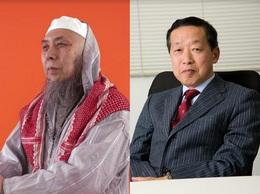 左:中田考(イスラーム法学者)、右:島田裕巳(宗教学者)