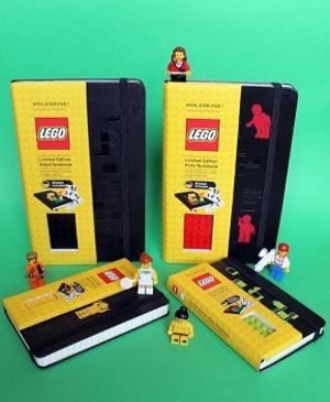 ゴッホやピカソも愛用した伝説の手帳ブランド「モレスキン」がLEGOとコラボ