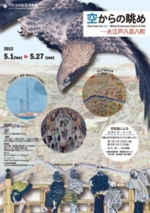 江戸時代の浮世絵師は想像で江戸の街を空から描いていた