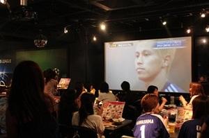 日本代表戦で、平日の売上が4倍になるスポーツバー
