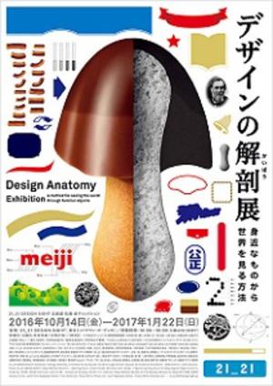 身近な製品を「デザインの視点」で観察 『デザインの解剖展』