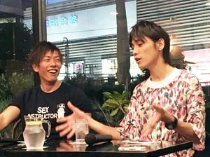 吉田尚記×しみけんが深く納得した「アナウンサーとAV男優の共通点」