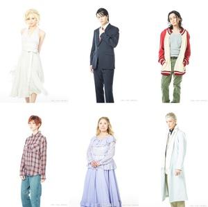 舞台『Jの総て』 出演者6名のキャラクタービジュアルが公開