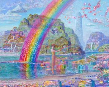 ジブリアニメ「耳をすませば」の背景美術を担当 井上直久が個展開催